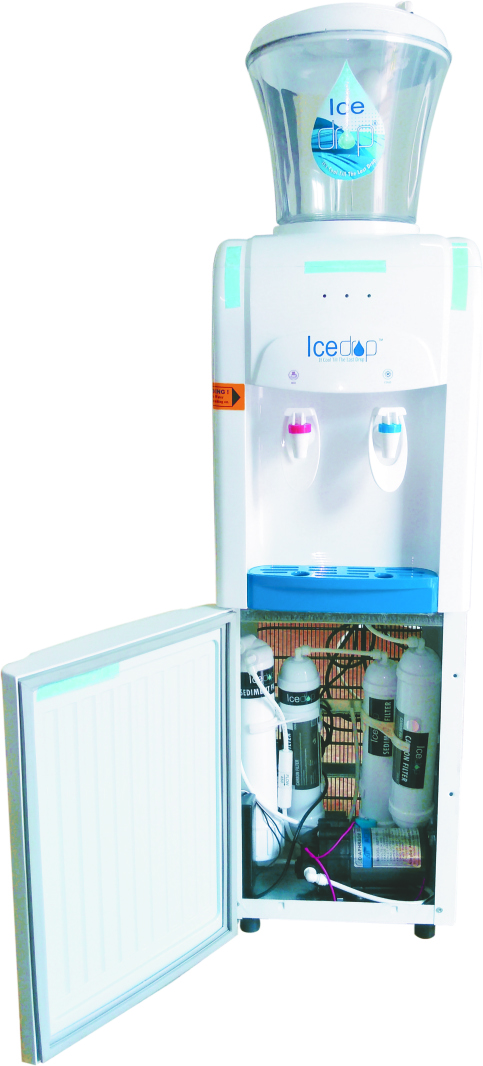 Floor Standing Water Dispenser with RO option - Hot / Cold