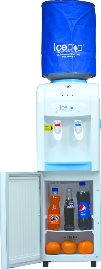 Floor Standing Water Dispenser with Fridge - Normal / Cold